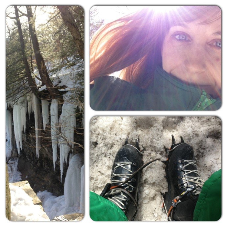 Icy photo shoot with Theresa Ortolani | Hallie Bulleit